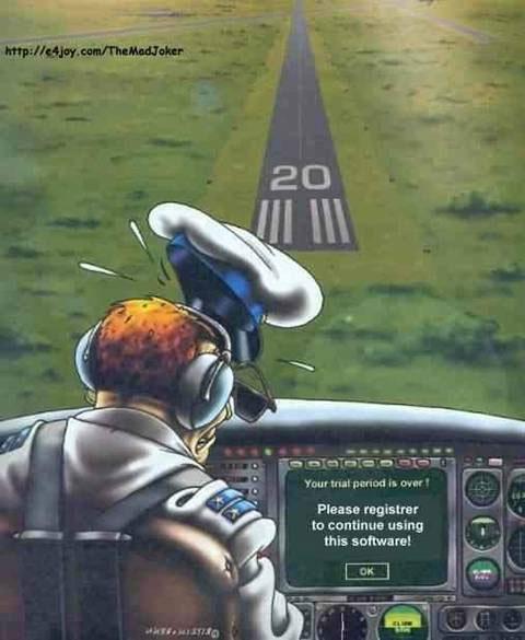 Pilot - Trail Software Problem