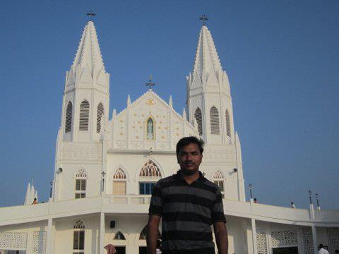In Velankanni Church